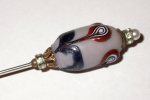 Murano glass hatpin