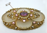 Beautiful Bohemian Brooch