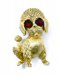 1960's Poodle Pin