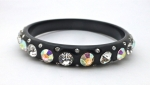 Aurora Borealis & Black Bangle