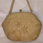 Pale Gold Beaded Bag WAS £95 NOW...