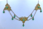 Art Nouveau Swag Necklace