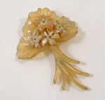 Art Nouveau Horn brooch WAS £280 NOW....