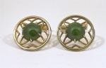 Nephrite/Jadeite style cufflinks WAS £55 NOW...