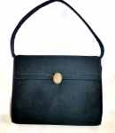 Black Matte Satin Bag