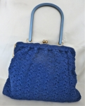 Marine Blue 60's Bag